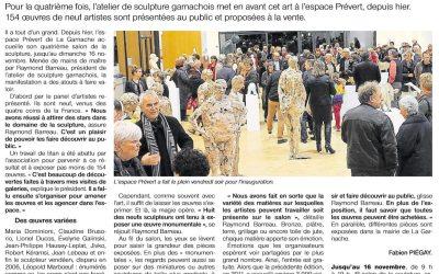 Ouest France – 09 Nov 2014