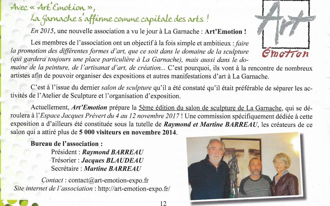 Bulletin Municipal La Garnache mars 2016