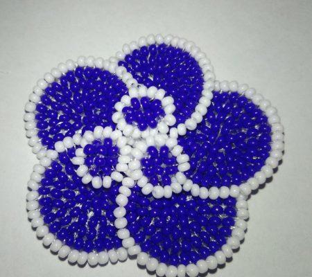 Мастер класс по диадеме из бисера: схема плетения пошагово ...
