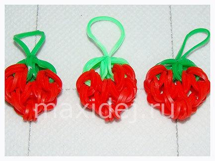 Плетение из резинок: фрукты и овощи для начинающих ...