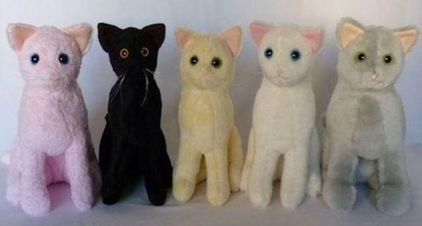 Мягкая игрушка кота: выкройка своими руками с фото - Сайт ...