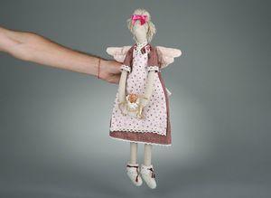 Выкройка тильда в натуральную величину: кот, заяц и кукла ...