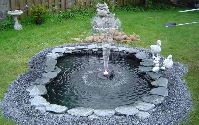 насосы для фонтана