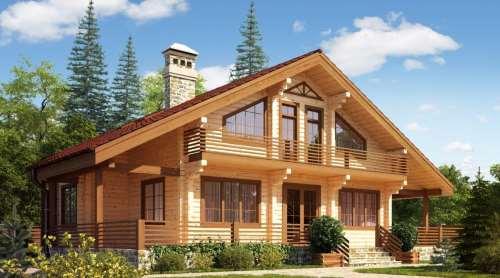 дома из профилированного бруса цена