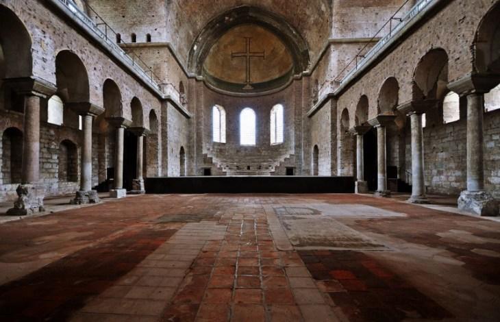 Кирпичные и гипсовые византийские церкви