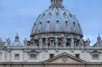 Купол Микеланджело Святого Петра в Риме