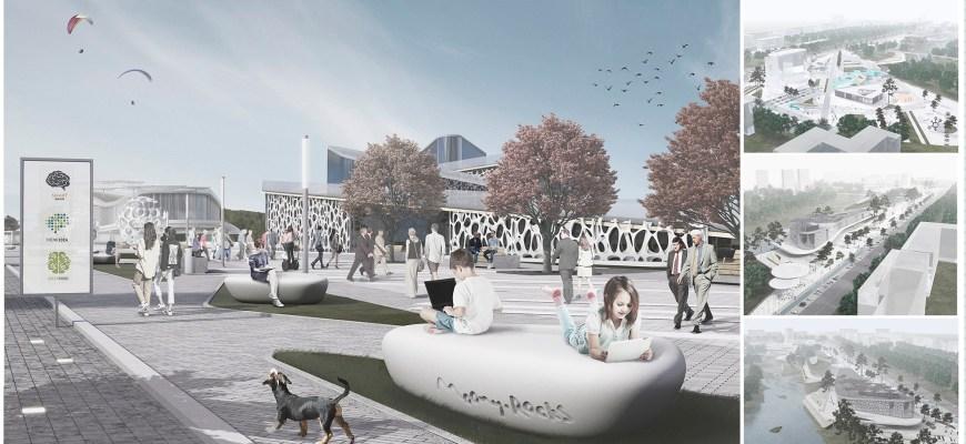 Дизайн архитектурной среды общественно культурного центра