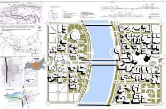 Центр Нового города на Транссибе-2