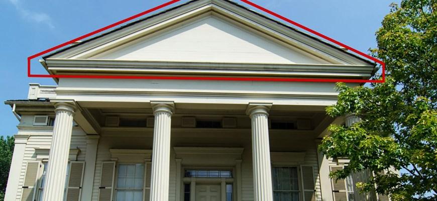 Фронтон-Генри-Би-Кларк-Хаус-Чикаго-резиденция-1836