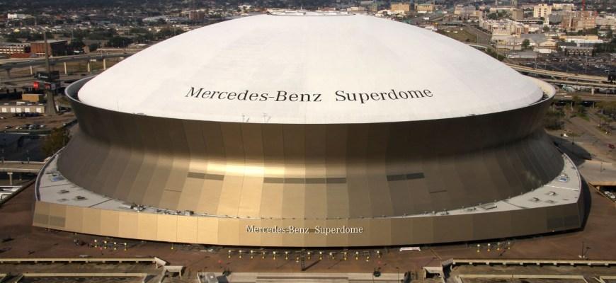 Новый Орлеан. Louisiana Superdome,