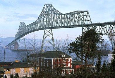 Астория Мост через реку Колумбия, штат Орегон.