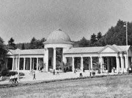 Курортная колоннада в Марианских Лазнях, Чехия