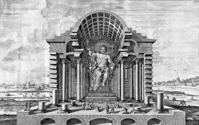Статуя-Зевс-Олимпия