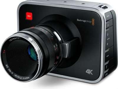 Caméra Blackmagic 4K