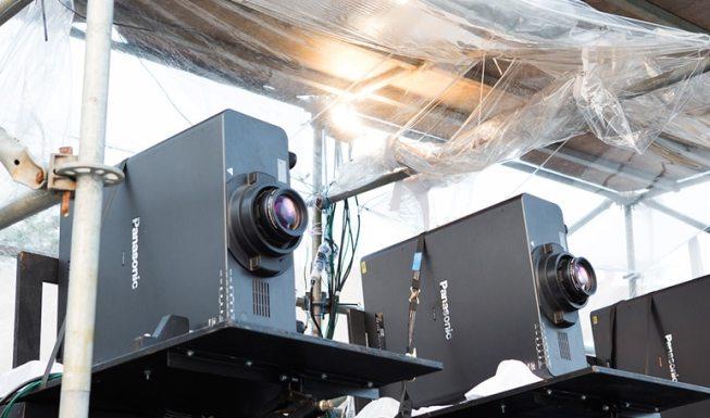 Videoprojecteur Panasonic PT-DZ21K vertical