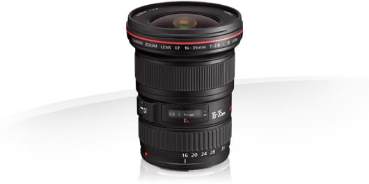 Objectif canon EF 16-35mm