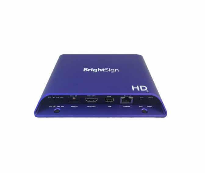Media Player Pro BrightSign HD1023