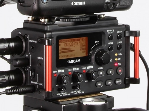 Enregistreur audio Tascam DR-60D