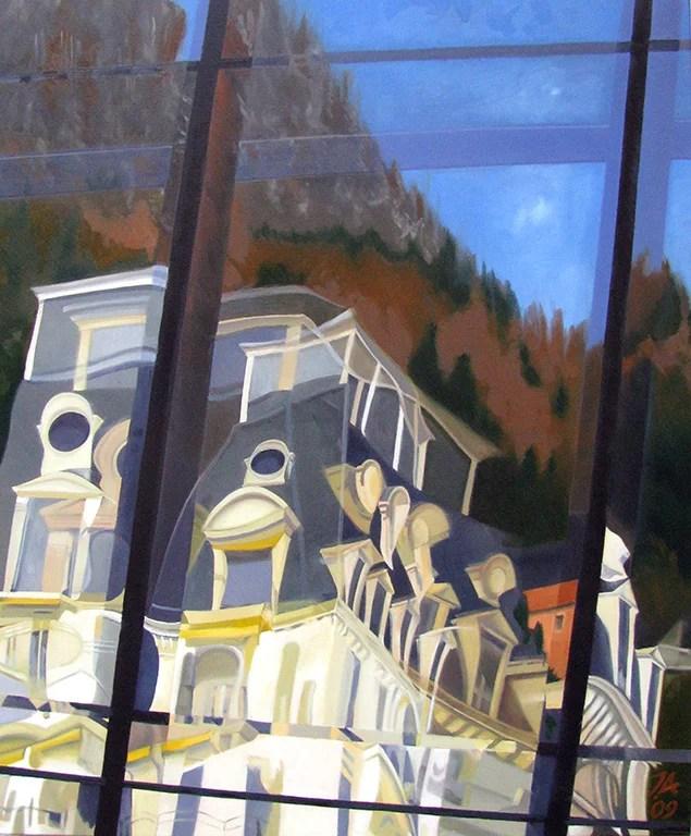 Montreux Résidence Belmont sur Stravinski Hall by John Allemann.