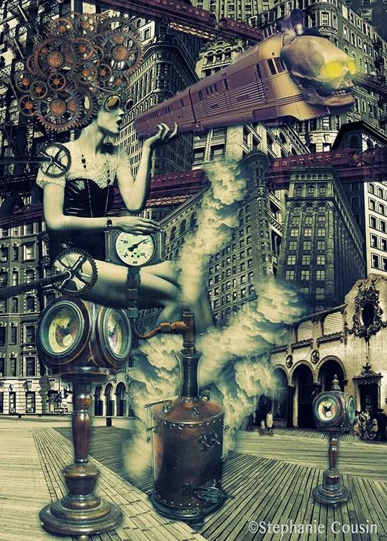 Death Train to Metropolis by Stéphanie Cousin