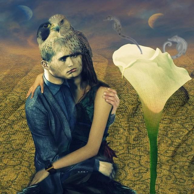 Le baiser by Stéphanie Cousin