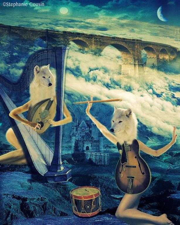 Les musiciennes by Stéphanie Cousin