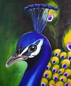 Handmade Painting - Natures beautiful creation The Peacock