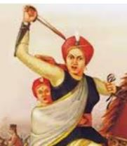 Jhansi ki rani, a legend freedom fighter