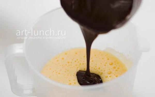 Шоколадные кексы с жидкой начинкой (шоколадный фондан ...