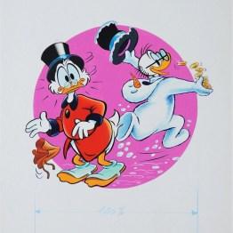 Gouache dessin original Disney - Galerie Art Maniak
