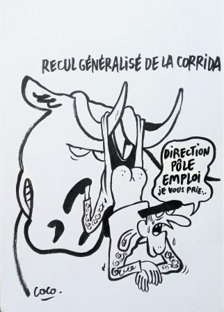 Dessin de presse original - Coco - Galerie Art Maniak