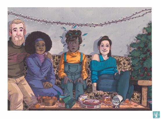 Dessin original Lucy Mazel - Olive - Galerie Art Maniak