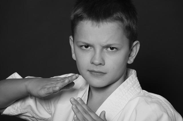 enfant art martial karate
