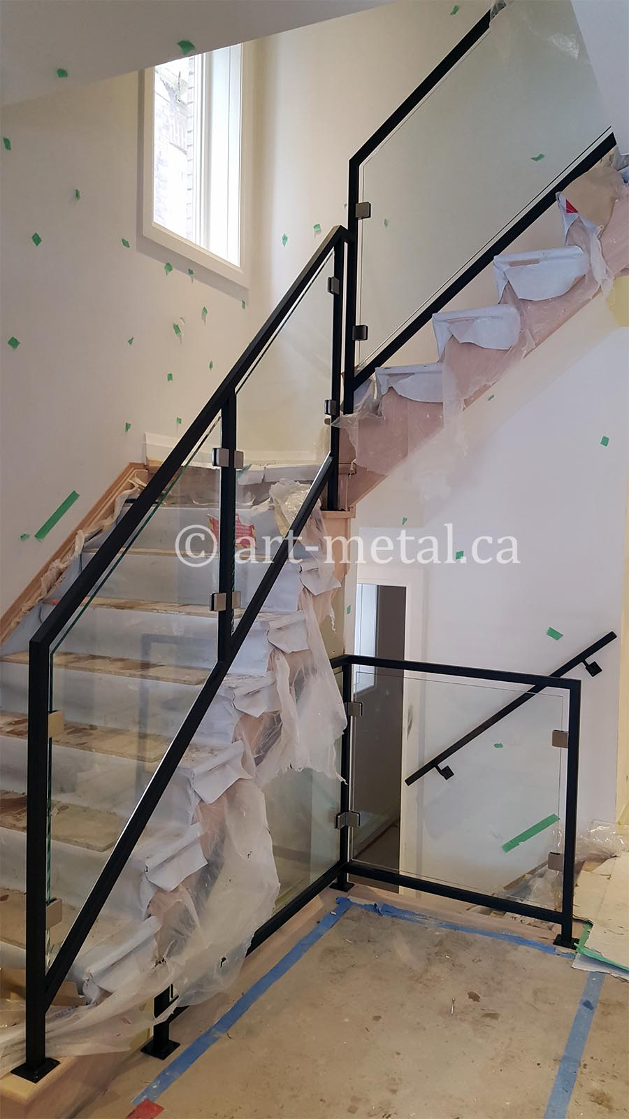 Modern Stair Railing Designs From Metal Wood Glass Etc