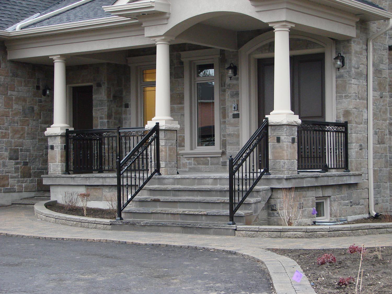 Aluminum Stair Railings In Toronto And Gta | Aluminum Handrails For Steps