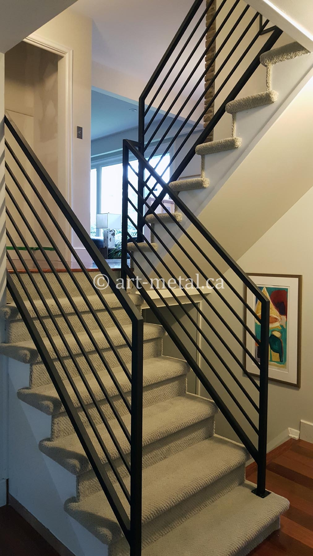 Elegant And Modern Interior Wrought Iron Railings For Stairs   Indoor Railings For Steps