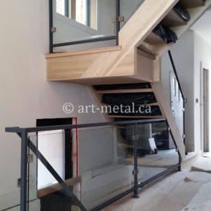 Framed And Frameless Glass Balustrade For Your Staircase | Glass Balustrade Internal Stairs | Pattern Glass | Glass Balustrading | Handrail | Cast Glass | Landing