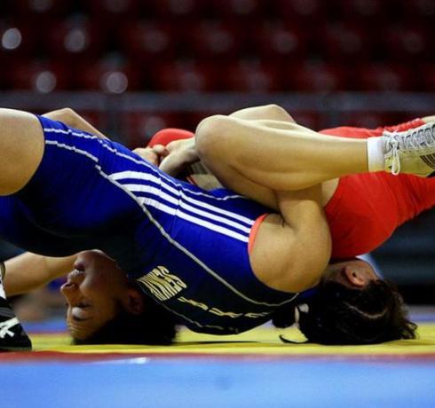 ВИДЕО! Все схватки Натальи Воробьевой на чемпионате мира в Лас-Вегасе.