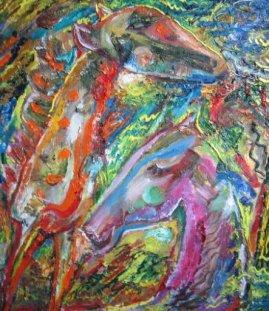ArtMoiseeva.ru - Colored Dreams - Giraffe