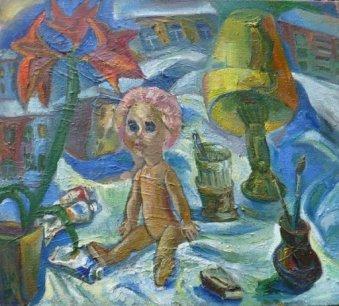 ArtMoiseeva.ru - Flowers - Soviet still life