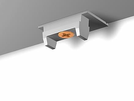 Крепежный соединитель (удлинитель) потолочный Клик Newly