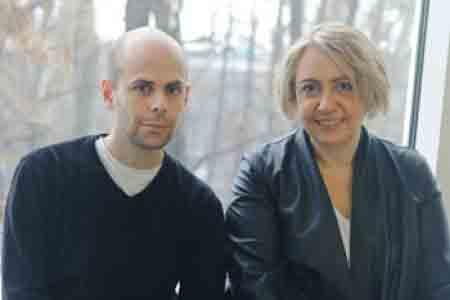 Дэвид Рифф и Екатерина Деготь, организаторы триеннале современного искусства «Бергенская ассамблея»