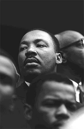 Мартин Лютер Кинг, Алабама, 1965. Фото Стива Шапиро