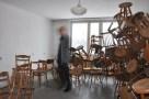 ИнсталляцияАнны Самар и Анастасии Путиловской _Невозвращение_