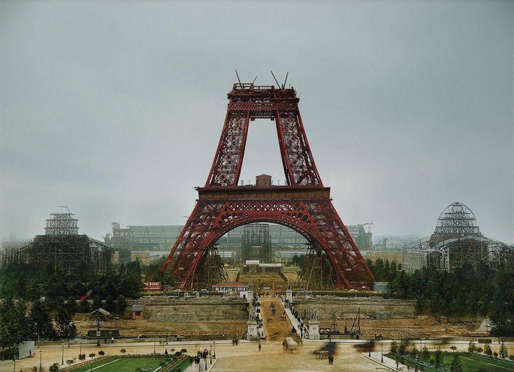Эйфелева башня, июль 1888
