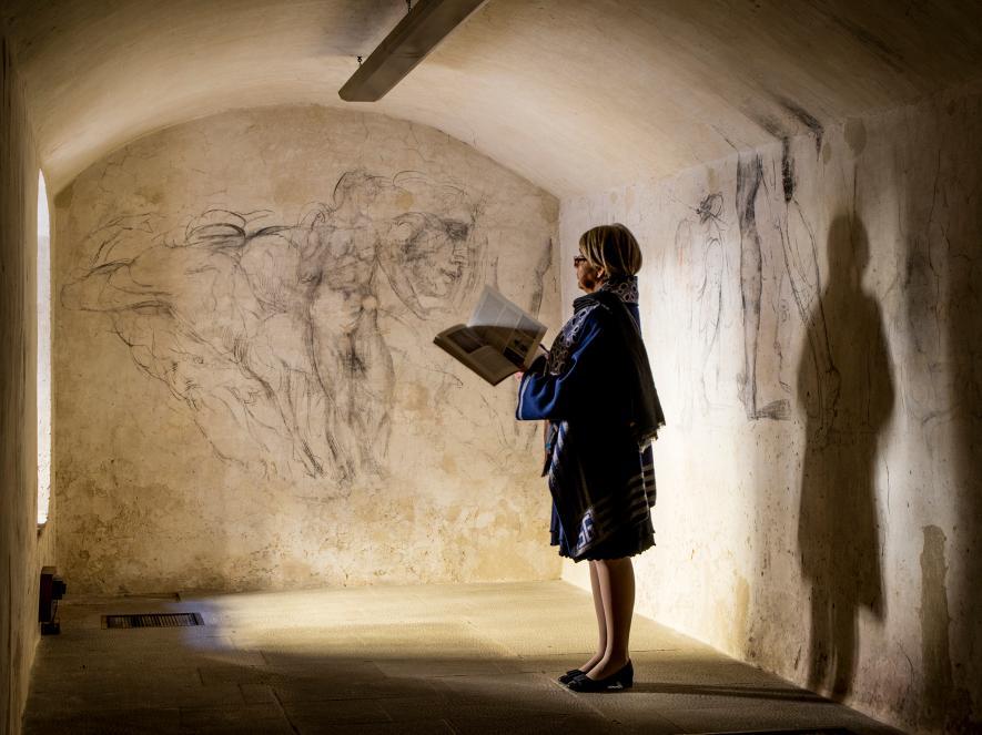 В секретной комнате Капеллы Медичи находятся «потерянные» произведения Микеланджело