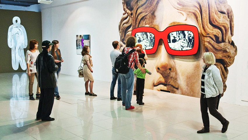 В Киеве прошла крупнейшая выставка современного искусства Kyiv Art Week