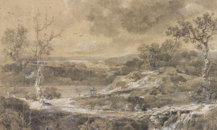 Десятки ранее неизвестных рисунков Томаса Гейнсборо обнаружены в библиотечной книге