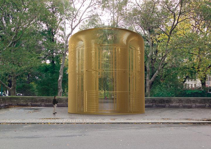 Ай Вэйвэй строит «заборы» в Нью-Йорке 2