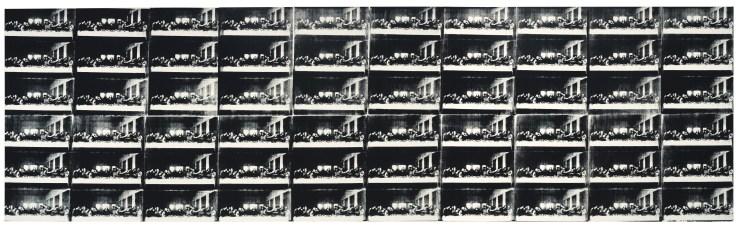 60-панельная картина Энди Уорхола «Последняя вечеря». Источник: Getty Images